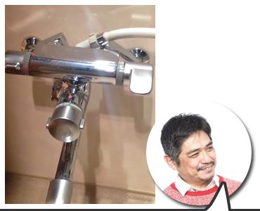 風呂場のホースからの水漏れも対応