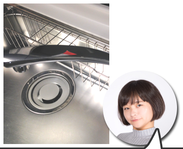 横浜市のキッチンのシャワーヘッドへ交換